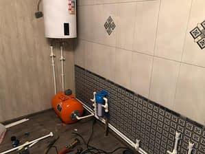 установка систем отопления в доме